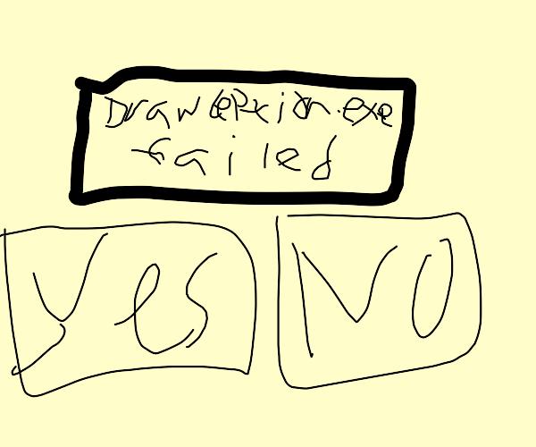 Drawception.exe has encountered a problem