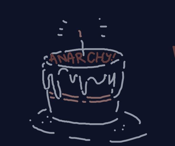 rebellious birthday cake