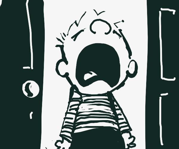 Annoyed Calvin