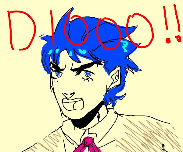 "Young Jonathan Joestar yelling ""DIO!"""