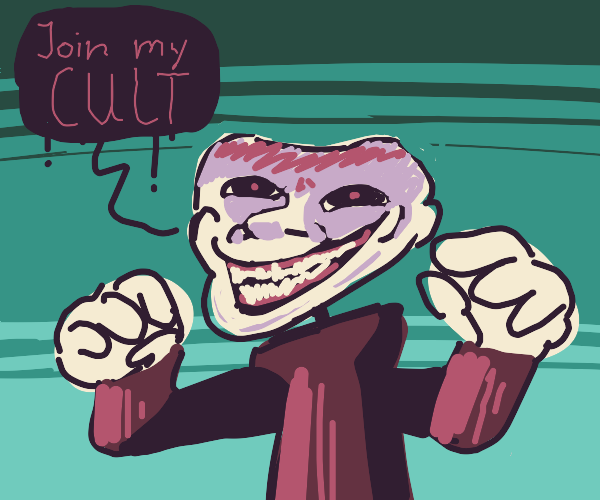 HE asks you to join his cult
