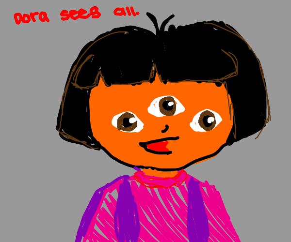 Three eyed Doora