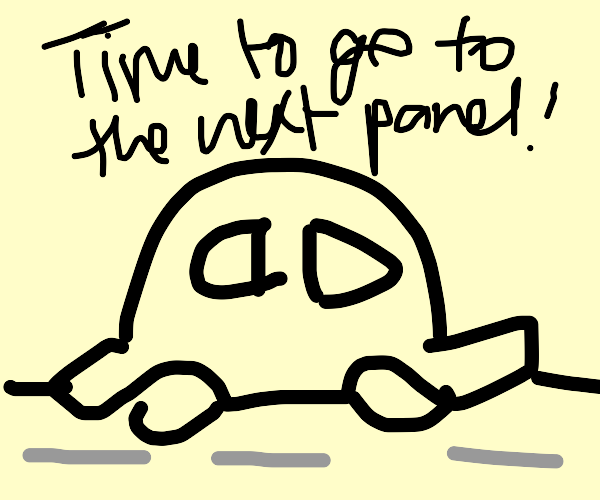 Directions to the next panel