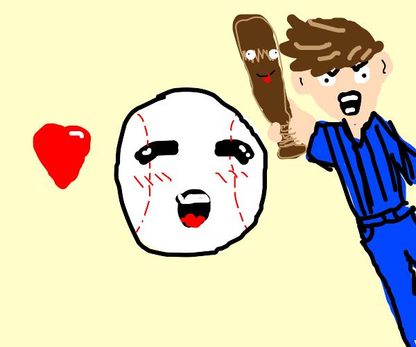 baseball in love