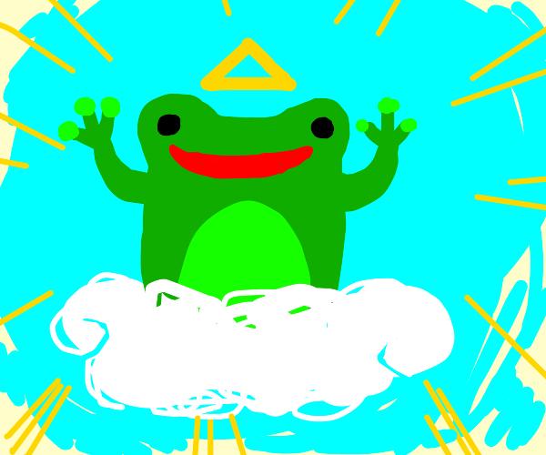 Frog is god