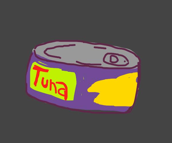 A tuna tin