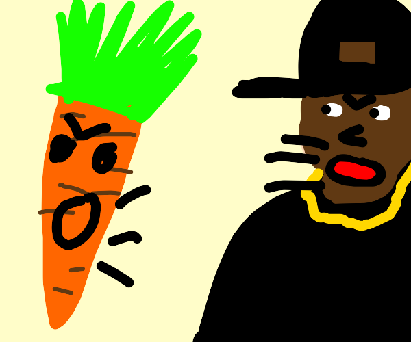 carrot and dj pauly d get into an argument