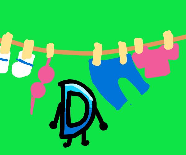 drawception doing laundry