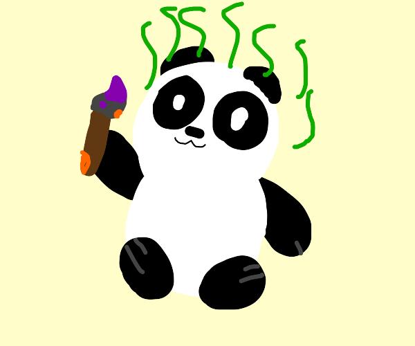 Smelly Artist Panda