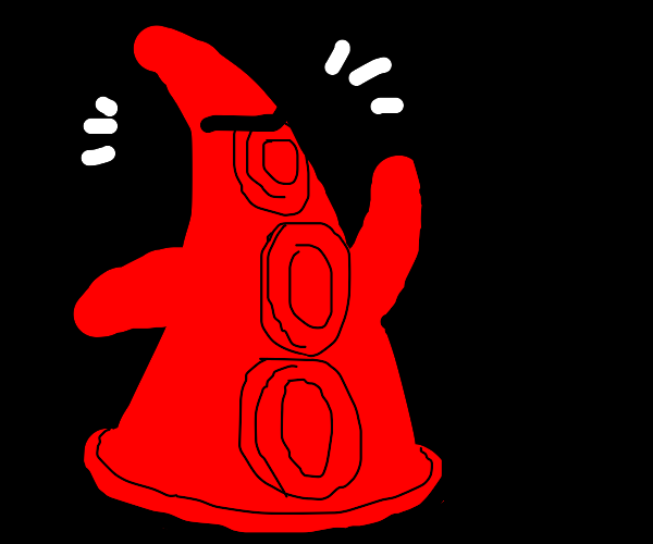 Red-black Day of the Tentacle person w/ arms