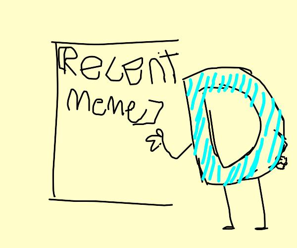 Most recent Drawception meme