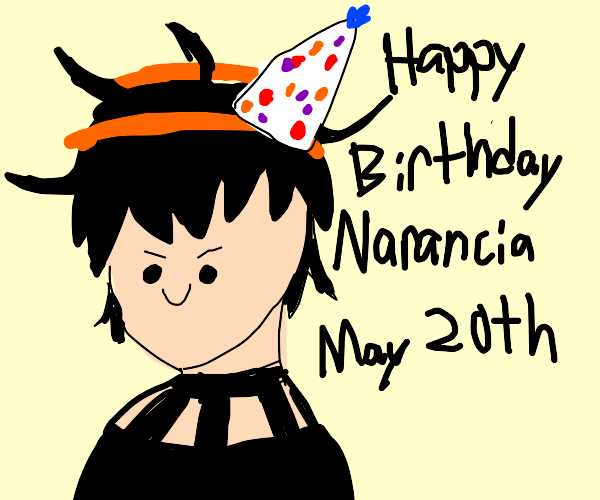 Happy birthday to Narancia Ghirga!