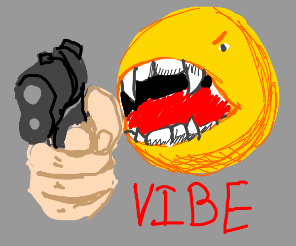 vibe check emoji boutta shoot u