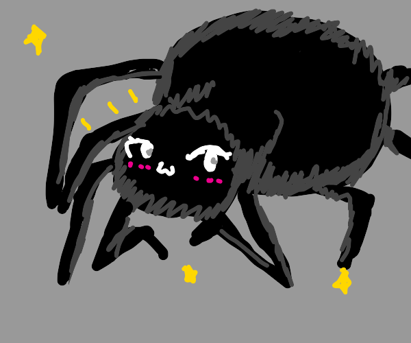 Cute spider monster