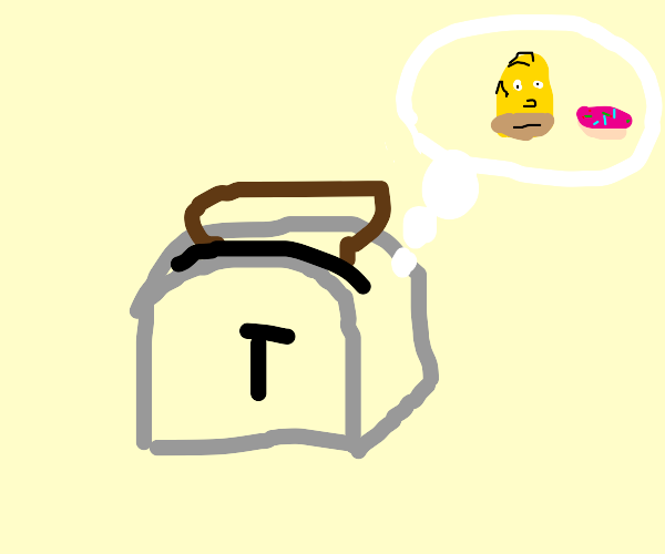 toaster thinks about homer
