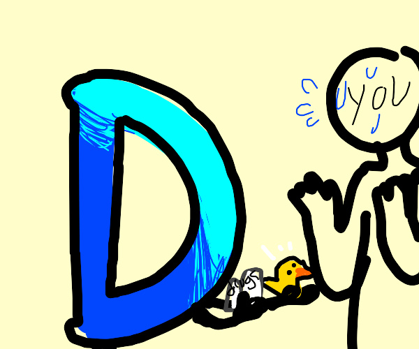Drawception logo offers you ducklets & drugs