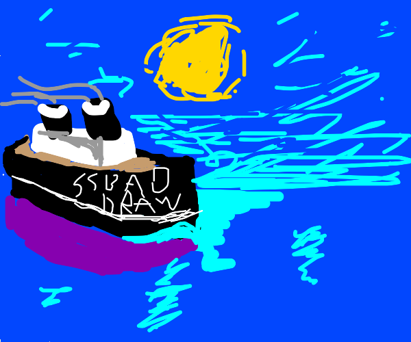 Boat called S.S Bad Draw