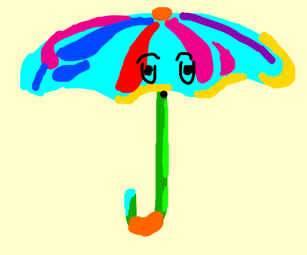 Surprised Umbrella
