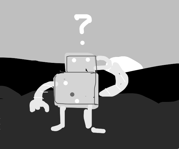 Classic robot lost