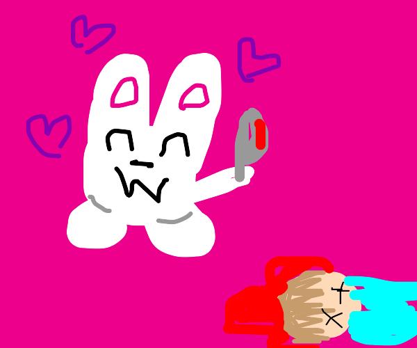 Cute Bunny Killed Someone
