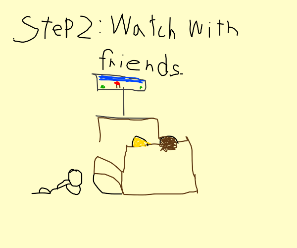 step 1: pirate the video