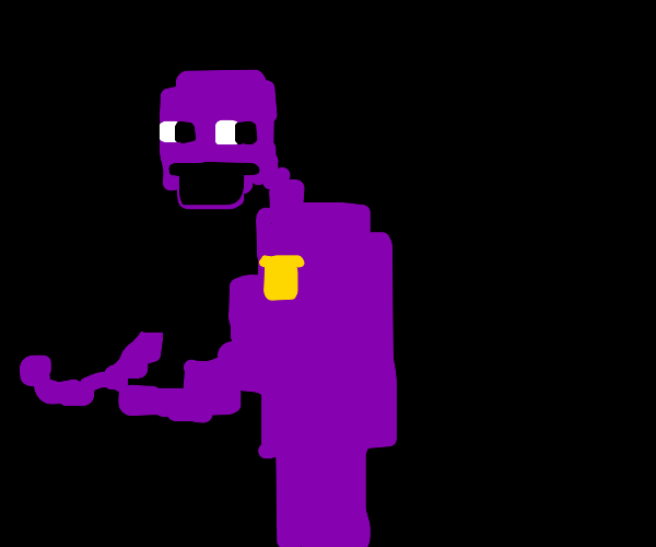 the purple guy from 5 nights at freddys