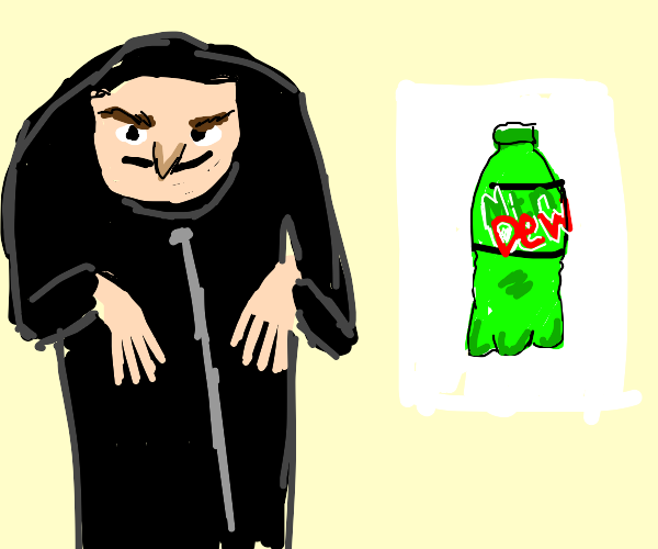 Gru explains his plan to steal Mtn Dew