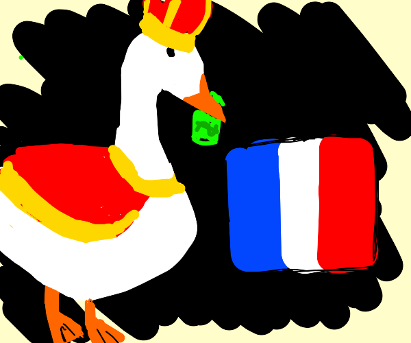 Goose wants to buy France