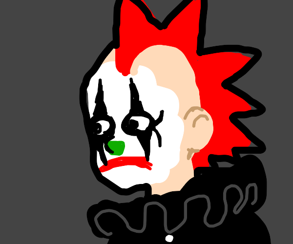 Clown mohawk