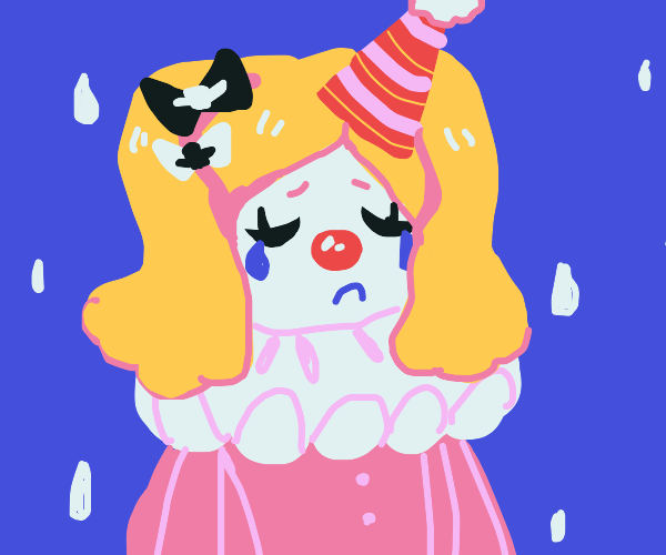crying clown