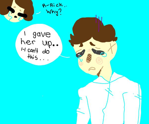 rick astley has an existential crisis
