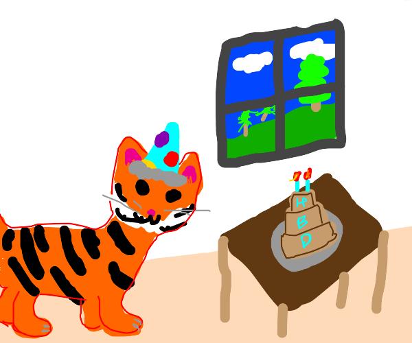 Tiger celebrates his Birthday