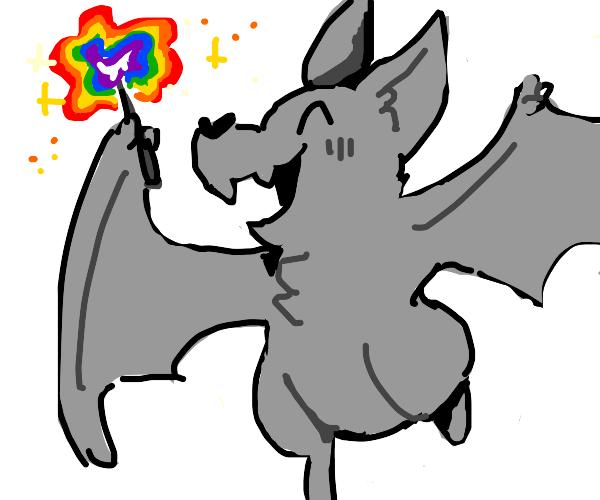 bat has magic gay wand