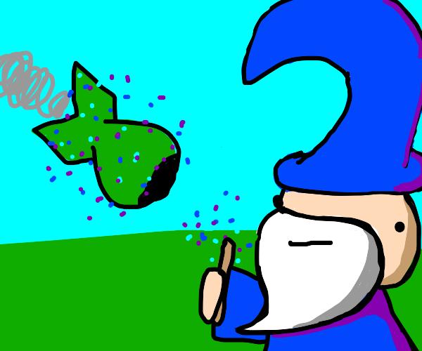 wizard stops nuke