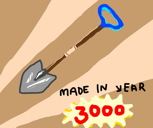 Shovel from the Year 3000
