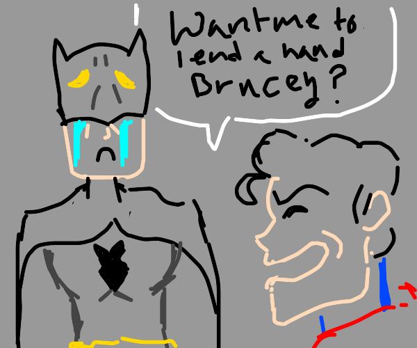 Batman with no arms