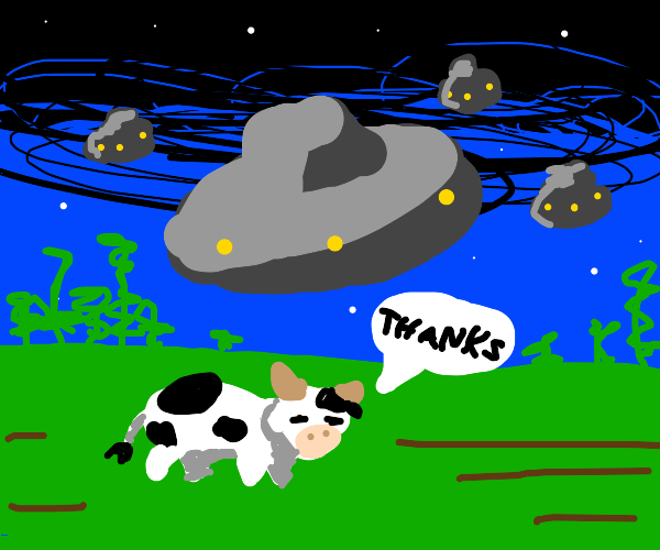 alien invasion you are a great artist