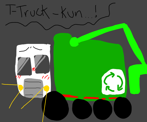 Truck-Kun loves you