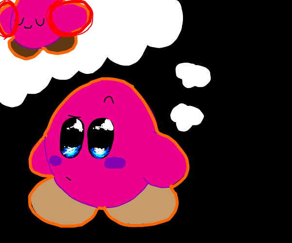 kirby is thinking about his arms