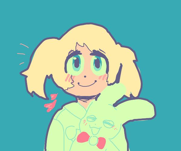 cute anime person :)
