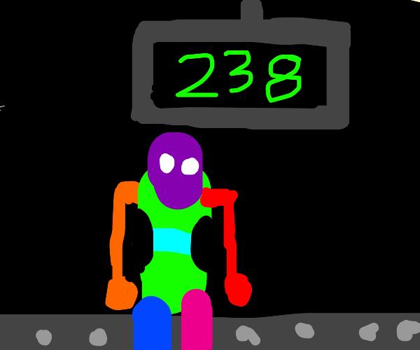 rainbow guy man 238