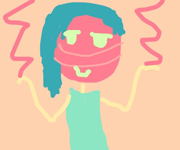 Lollipop person