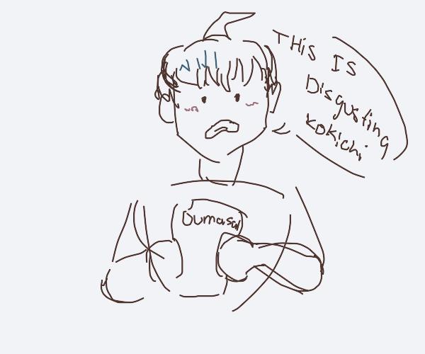 Shuichi hates oumasai fanfic