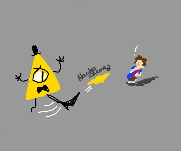 Bill cypher kicks nacho cheese at  kid