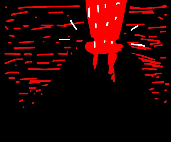Volcano goes kaboom