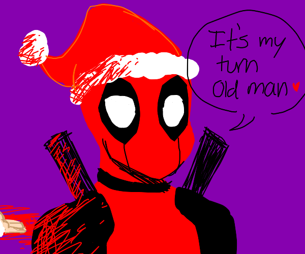 deadpool killed santa and took his place