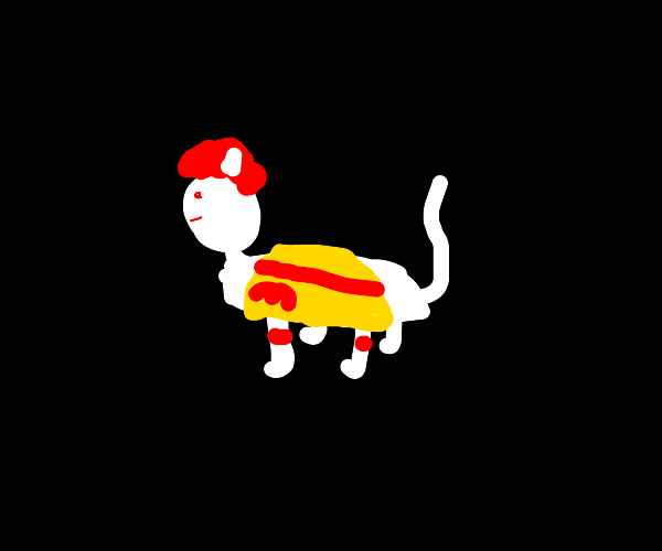 Ronald McDonald Cat