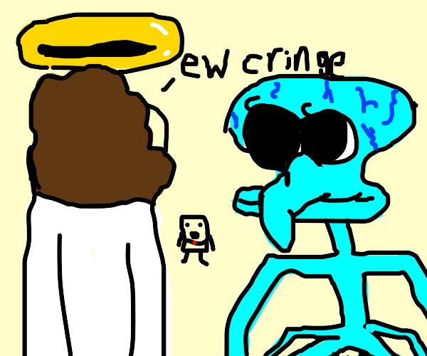 Jesus hates Squids