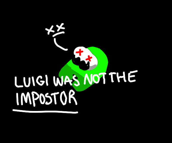 Luigi from Among Us was not the impostor