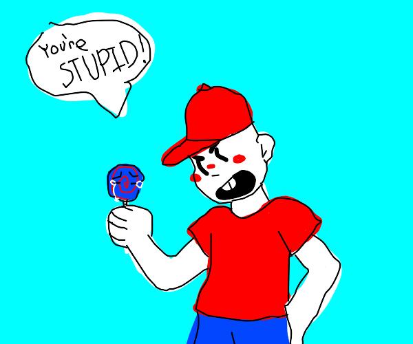 Boy insults Lollipop
